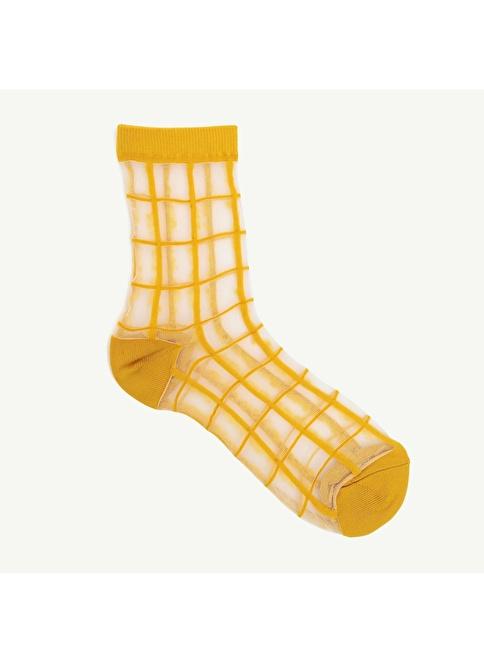 Yargıcı Çorap Sarı